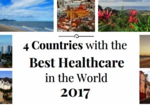 El país con la mejor asistencia médica es Malasia.