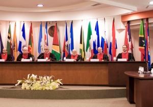 Aspecto de la Corte Interamericana de Derechos Humanos en San José (Costa Rica).