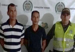 Edinson Maldonado, de 40 años, y Julio Ortiz Rodríguez, de 41, detenidos por la Policía.