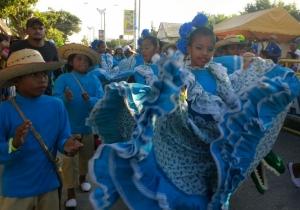 Los niños se tomaron el Festival del Caimán, en Ciénaga.