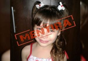 La niña se llama Xiomara, y sí fue raptada por unas horas, pero en Argentina.