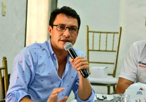 Carlos Caicedo Omar, exalcalde de Santa Marta.