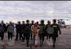 El Chapo Guzmán fue extraditado hacia los Estados Unidos.