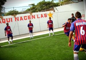 La cancha de La Castellana ha sido epicentro del deporte samario por años.