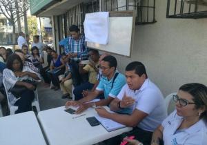 La reunión fue liderada por el gerente de Proyectos Especiales de la Gobernación, Fabio Manjarrés Pinzón.