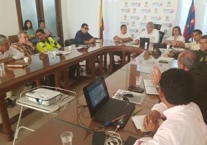 Consejo extraordinario de seguridad vial efectuado en el Palacio Tayrona.