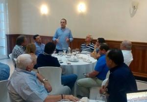 En el encuentro político se habló sobre el apoyo al senador Efraín 'Fincho' Cepeda.