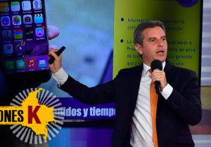 Carlos Correa, Alto Consejero para las Regiones, presentó el miércoles pasado la aplicación.