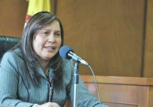Oneida Escobar, madre de Luis Colmenares.