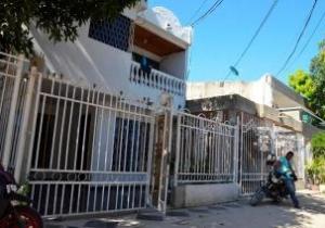 Esta es la vivienda donde ocurrió el hurto.